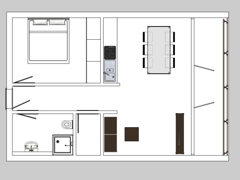 2 zimmer wohnung 55 qm uwe urlaub immobilien entwicklung. Black Bedroom Furniture Sets. Home Design Ideas